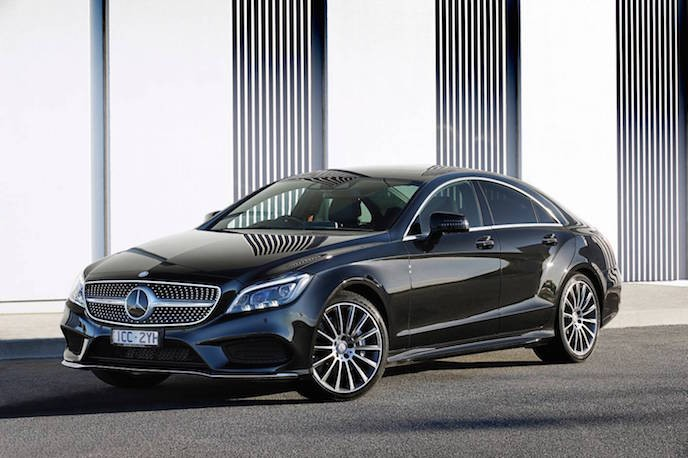 CLS 500 Coupe - 3-1